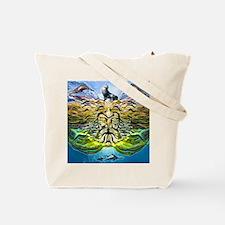 Oceans of Poseidon Tote Bag