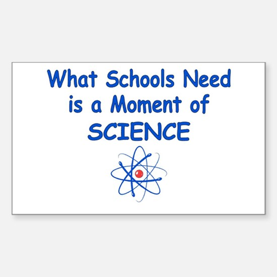 Science Rectangle Decal