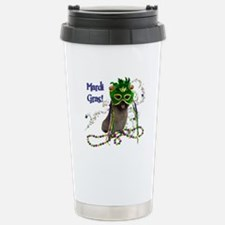 Mardi Gras Cairn Terrier Travel Mug