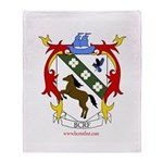 BC Renfest Crest Throw Blanket