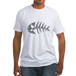 Pirate Fish Fitted T-Shirt
