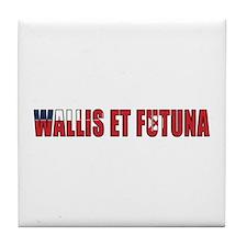 Wallis and Futuna Tile Coaster