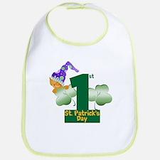 First St. Patrick's Day Bib