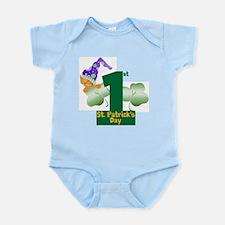 First St. Patrick's Day Infant Bodysuit