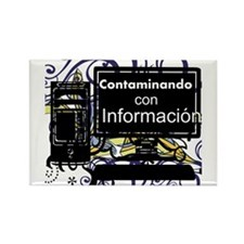 Contaminacion Rectangle Magnet