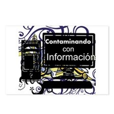 Contaminacion Postcards (Package of 8)