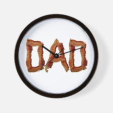 Bacon Dad Wall Clock
