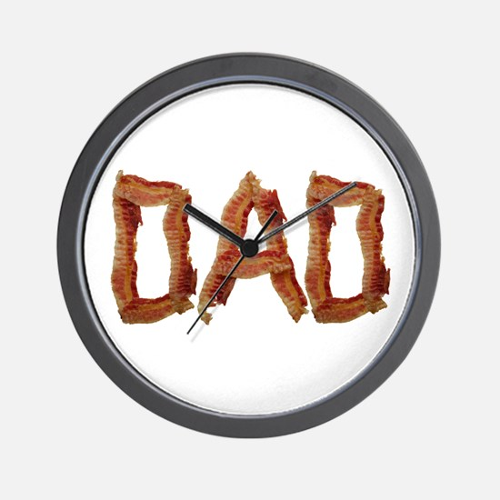 Bacon Dad Wall Clock