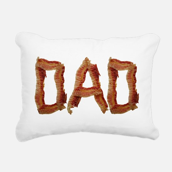 Bacon Dad Rectangular Canvas Pillow