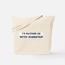 With Kiersten Tote Bag
