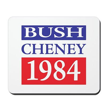 Bush Cheney 1984 Mousepad