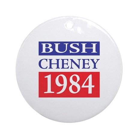 Bush Cheney 1984 Ornament (Round)