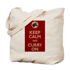 Keep Calm And Curry On Tote Bag