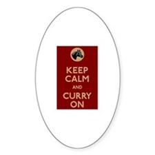 Keep Calm And Curry On Decal
