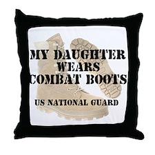 My Daughter Wears NG DCB Throw Pillow