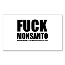 F**K MONSANTO GMO Decal
