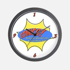 Comics! Wall Clock