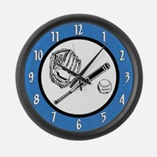 Baseball Large Wall Clock