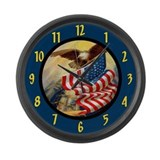Bald eagle Giant Clocks