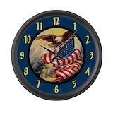 Bald eagle Giant Clocks