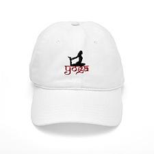 Yoga One-Legged King Pigeon P Baseball Cap