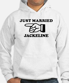 Just Married Jackeline Hoodie