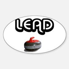 Lead Oval Decal