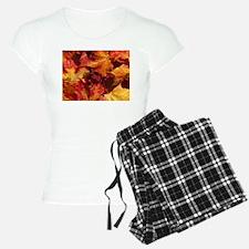 Thanksgiving Autmn Leaves Pajamas