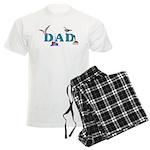 Dad's Fishing Place Men's Light Pajamas