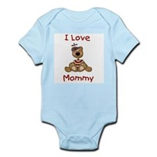 I Love Mommy (Boy) Infant Creeper