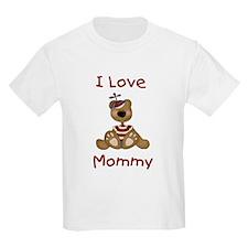 I Love Mommy (Boy) Kids T-Shirt