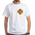 Masonic Knights Templar White T-Shirt