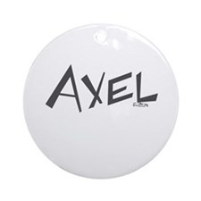 Axel Ornament (Round)