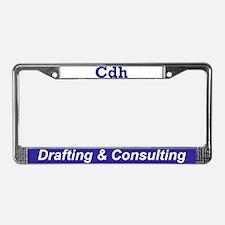 Cdh License Plate Frame