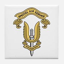 Special Air Service Tile Coaster