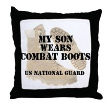 My Son Wears NG DCB Throw Pillow
