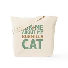 Burmilla Cat Tote Bag
