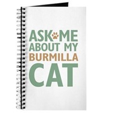 Burmilla Cat Journal
