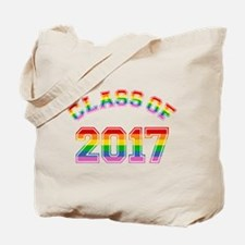Class Of 2017 Rainbow Tote Bag