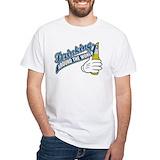 Drink around the world Mens White T-shirts