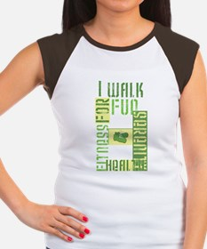 I Walk for Fun... Women's Cap Sleeve T-Shirt