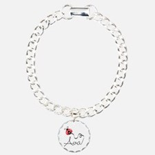 Ladybug Ava Charm Bracelet, One Charm