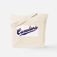 Cavaliers BASEBALL SCRIPT Tote Bag