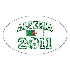 Algeria Soccer 2011 Decal