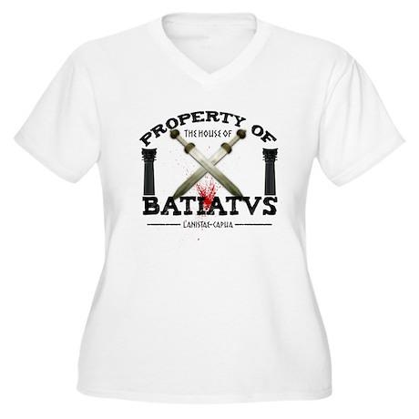 House of Batiatus Women's Plus Size V-Neck T-Shirt