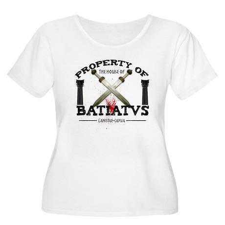 House of Batiatus Women's Plus Size Scoop Neck T-S