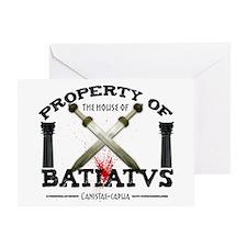 House of Batiatus Greeting Card