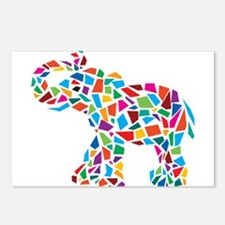 Abstract Elephant Postcards (Package of 8)