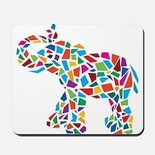 Abstract Elephant Mousepad
