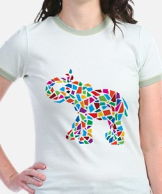 Abstract Elephant T